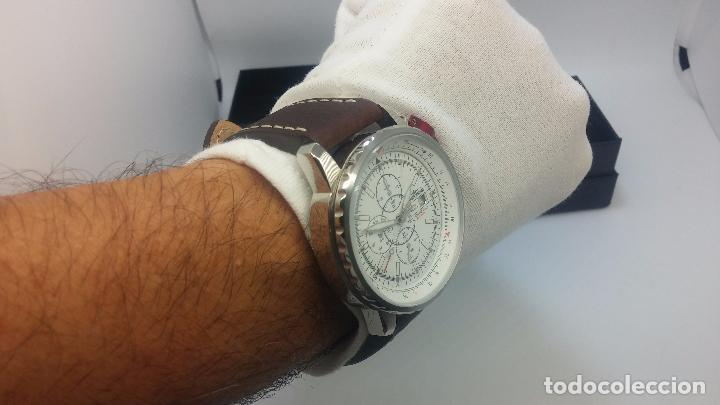 Relojes automáticos: Reloj Thunderbirs automatic, edicion limited, estilo aviador, de caballero - Foto 52 - 103808687
