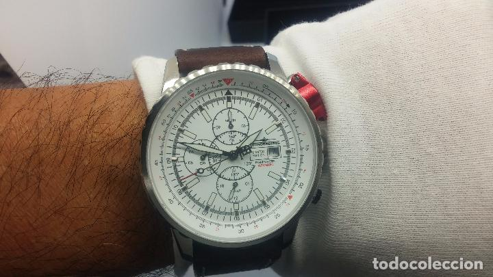 Relojes automáticos: Reloj Thunderbirs automatic, edicion limited, estilo aviador, de caballero - Foto 53 - 103808687
