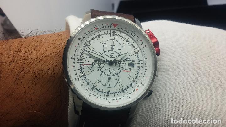 Relojes automáticos: Reloj Thunderbirs automatic, edicion limited, estilo aviador, de caballero - Foto 54 - 103808687