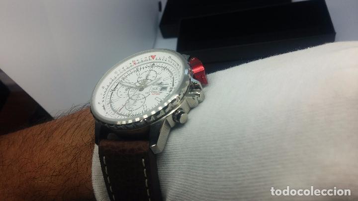 Relojes automáticos: Reloj Thunderbirs automatic, edicion limited, estilo aviador, de caballero - Foto 57 - 103808687