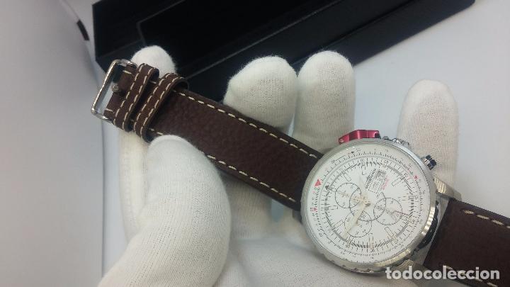 Relojes automáticos: Reloj Thunderbirs automatic, edicion limited, estilo aviador, de caballero - Foto 65 - 103808687