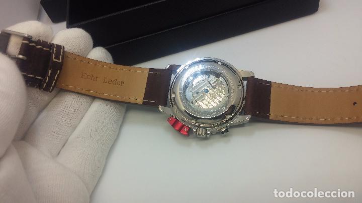 Relojes automáticos: Reloj Thunderbirs automatic, edicion limited, estilo aviador, de caballero - Foto 68 - 103808687