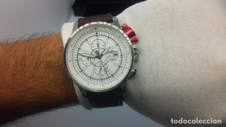 Relojes automáticos: Reloj Thunderbirs automatic, edicion limited, estilo aviador, de caballero - Foto 70 - 103808687