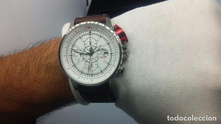 Relojes automáticos: Reloj Thunderbirs automatic, edicion limited, estilo aviador, de caballero - Foto 71 - 103808687