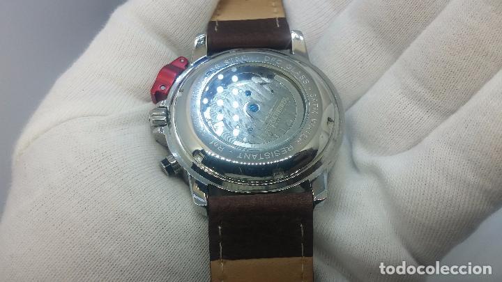 Relojes automáticos: Reloj Thunderbirs automatic, edicion limited, estilo aviador, de caballero - Foto 72 - 103808687