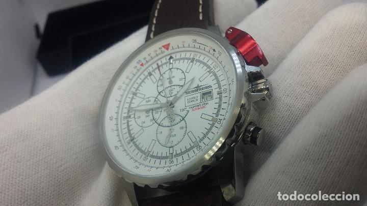 Relojes automáticos: Reloj Thunderbirs automatic, edicion limited, estilo aviador, de caballero - Foto 75 - 103808687