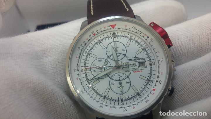 Relojes automáticos: Reloj Thunderbirs automatic, edicion limited, estilo aviador, de caballero - Foto 77 - 103808687