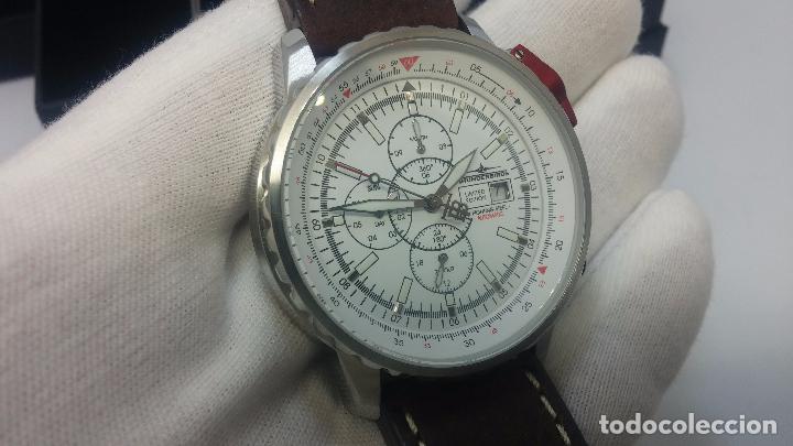 Relojes automáticos: Reloj Thunderbirs automatic, edicion limited, estilo aviador, de caballero - Foto 78 - 103808687