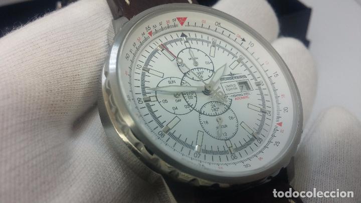Relojes automáticos: Reloj Thunderbirs automatic, edicion limited, estilo aviador, de caballero - Foto 80 - 103808687