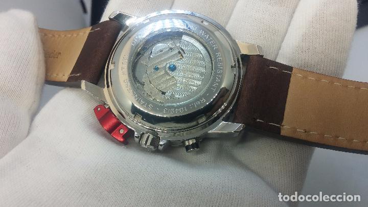Relojes automáticos: Reloj Thunderbirs automatic, edicion limited, estilo aviador, de caballero - Foto 81 - 103808687