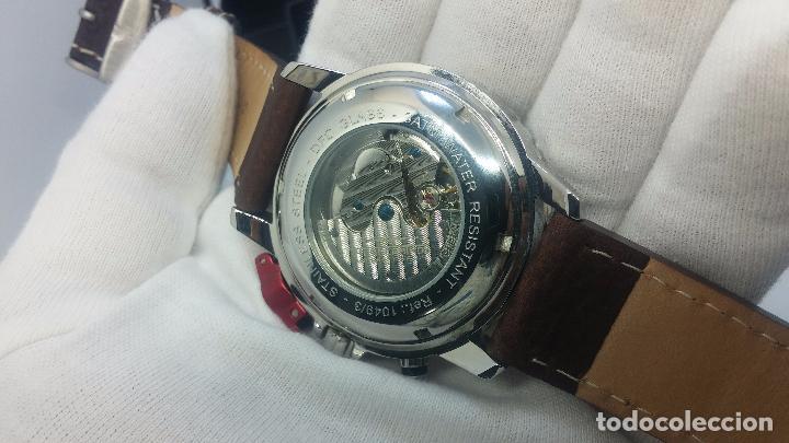 Relojes automáticos: Reloj Thunderbirs automatic, edicion limited, estilo aviador, de caballero - Foto 83 - 103808687
