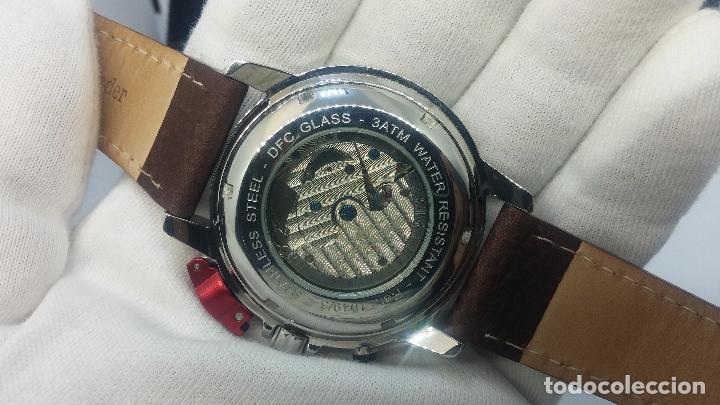 Relojes automáticos: Reloj Thunderbirs automatic, edicion limited, estilo aviador, de caballero - Foto 84 - 103808687