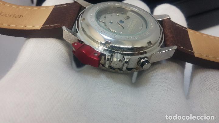 Relojes automáticos: Reloj Thunderbirs automatic, edicion limited, estilo aviador, de caballero - Foto 87 - 103808687