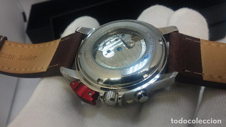 Relojes automáticos: Reloj Thunderbirs automatic, edicion limited, estilo aviador, de caballero - Foto 89 - 103808687