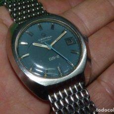 Relojes automáticos: PRECIOSO RELOJ CERTINA DS-2 TORTUGA AUTOMATICO RARA BELLA ESFERA AZUL MILANESA DIVER VINTAGE AÑOS 70. Lote 106652983