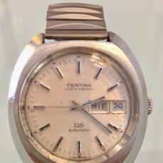 Relojes automáticos: RELOJ CERTINA DS KURTH FRERES AUTOMÁTICO TORTUGA VINTAGE. Lote 104372558