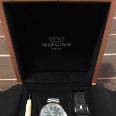 Relojes automáticos: RELOJ CABALLERO EN ACERO GLYCINE SWISS. MODELO COMBAT AUTOMATIC REF 3842. EDICIÓN LIMITADA. Lote 104381094