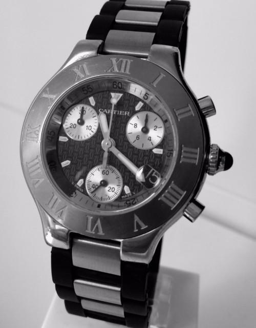 CARTIER CRONOSCAPH 21 (Relojes - Relojes Automáticos)