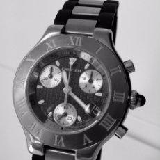 Relojes automáticos: CARTIER CRONOSCAPH 21. Lote 61508143