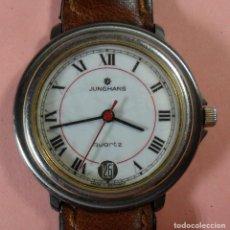 Relojes automáticos: RELOJ JUNGHANS DE PULSERA DE CUARZO - 7 JEWELS - NO FUNCIONA. Lote 105800779