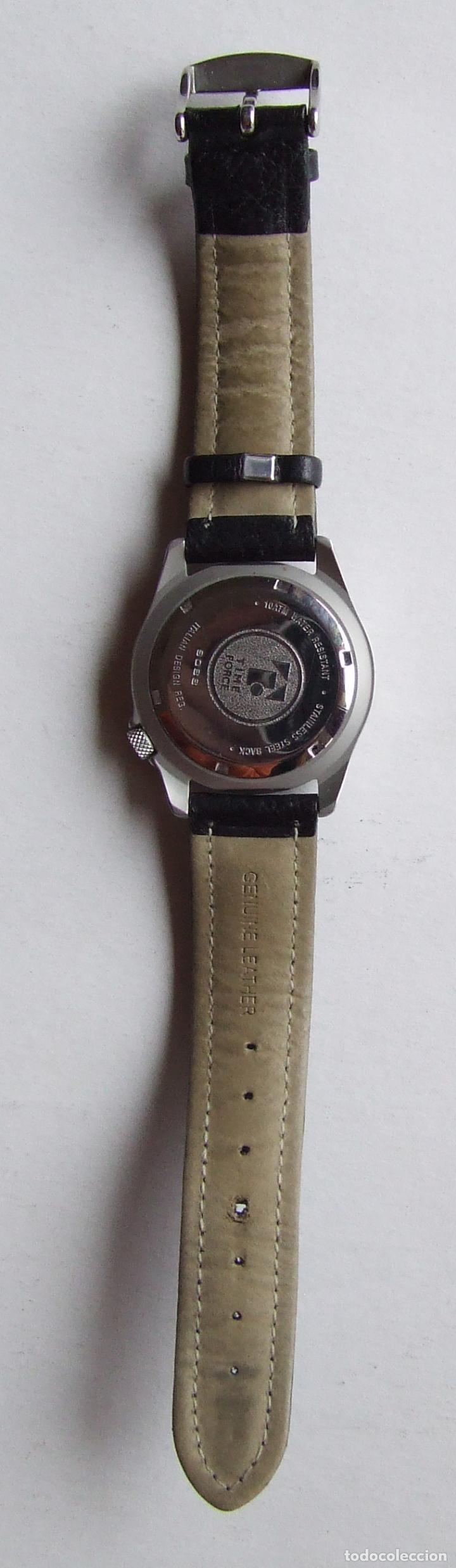 Relojes automáticos: RELOJ DE PULSERA TIME FORCE 100 M CON CALENDARIO - Foto 3 - 105821947