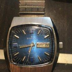 Relojes automáticos: RELOJ DE PULSERA AUTOMATICO RADIANT BLUMAR DE LOS AÑOS 70 , FUNCIONA CORRECTAMENTE. Lote 65453262