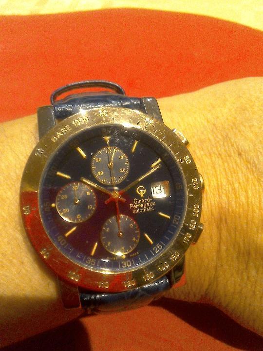 RELOJ GIRARD PERREGAUX AUTOMÁTICO ACERO Y ORO18K (Relojes - Relojes Automáticos)