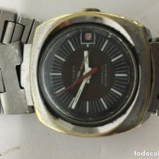 Relojes automáticos: RELOJ SUIZO AUTOMATICO DE CADENA FUNCIONANDO. Lote 121035904