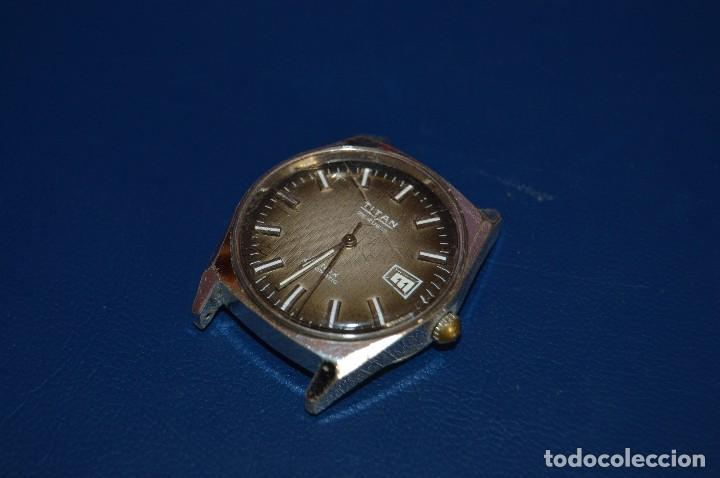 ANTIGUO - VINTAGE - RELOJ DE PULSERA - TITAN TENOX AUTOMATIC - 25 RUBIS - SWISS MADE - HAZ OFERTA (Relojes - Relojes Automáticos)