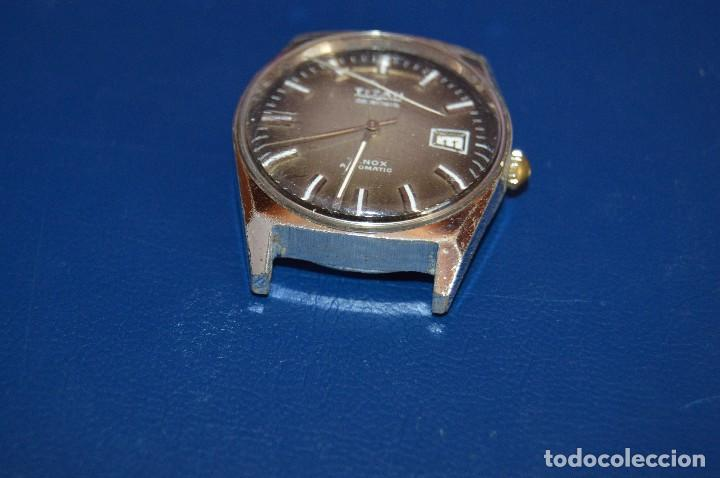 Relojes automáticos: ANTIGUO - VINTAGE - RELOJ DE PULSERA - TITAN TENOX AUTOMATIC - 25 RUBIS - SWISS MADE - HAZ OFERTA - Foto 4 - 106944051