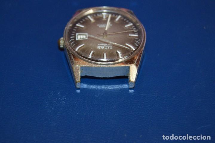Relojes automáticos: ANTIGUO - VINTAGE - RELOJ DE PULSERA - TITAN TENOX AUTOMATIC - 25 RUBIS - SWISS MADE - HAZ OFERTA - Foto 5 - 106944051