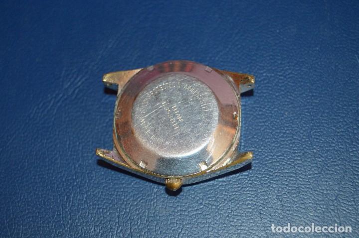 Relojes automáticos: ANTIGUO - VINTAGE - RELOJ DE PULSERA - TITAN TENOX AUTOMATIC - 25 RUBIS - SWISS MADE - HAZ OFERTA - Foto 7 - 106944051