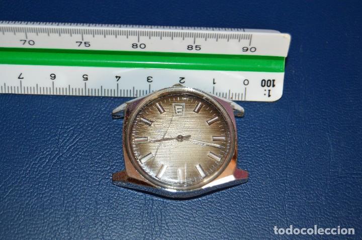 Relojes automáticos: ANTIGUO - VINTAGE - RELOJ DE PULSERA - TITAN TENOX AUTOMATIC - 25 RUBIS - SWISS MADE - HAZ OFERTA - Foto 8 - 106944051