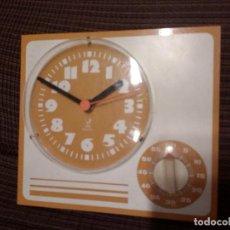 Relojes automáticos: RELOJ DE PARED PARA COCINA - JAZ - ELECTRICO, CON TEMPORIZADOR.ALEMAN.. Lote 107467739