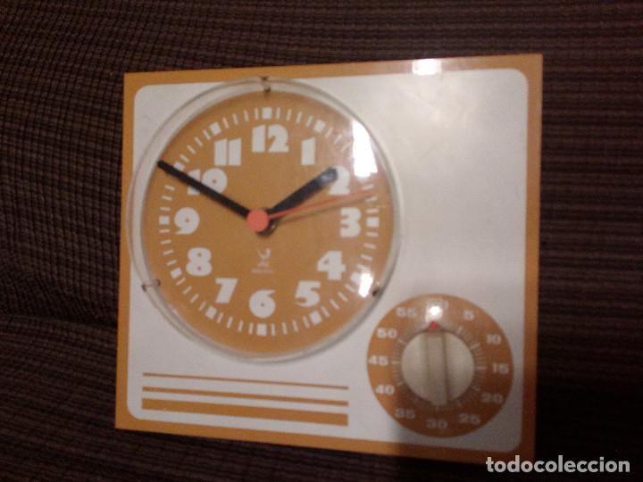 Relojes automáticos: RELOJ DE PARED PARA COCINA - JAZ - ELECTRICO, CON TEMPORIZADOR.ALEMAN. - Foto 5 - 107467739