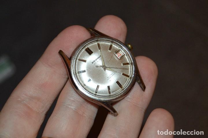 Relojes automáticos: ANTIGUO - VINTAGE - RELOJ DE PULSERA KRONOX - SWISS MADE - 25 RUBIS - AUTOMATIC - HAZ OFERTA - Foto 6 - 107610947