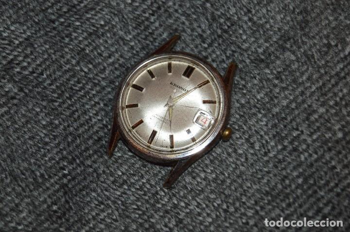 Relojes automáticos: ANTIGUO - VINTAGE - RELOJ DE PULSERA KRONOX - SWISS MADE - 25 RUBIS - AUTOMATIC - HAZ OFERTA - Foto 7 - 107610947