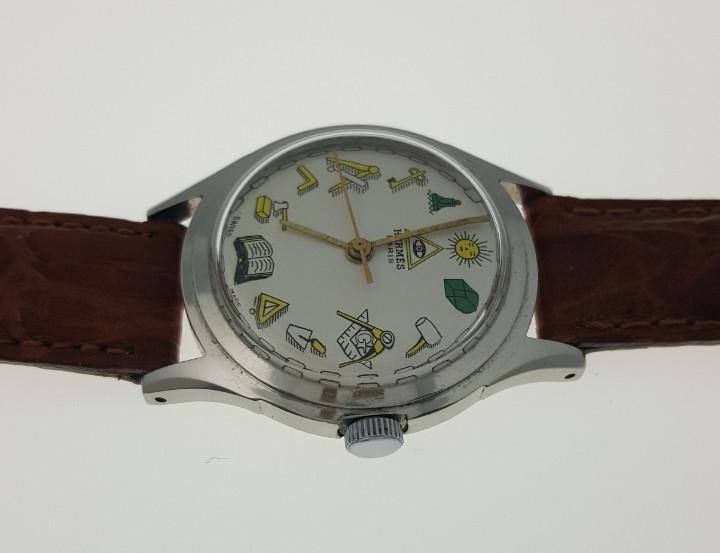 Hermes paris-vintage- masonic-años 50 - Sold through Direct