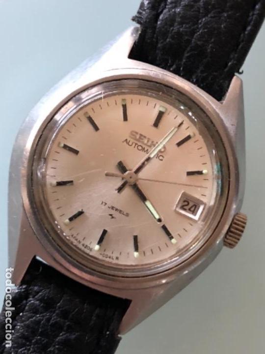 RELOJ SEIKO MUJER CAJA ACERO FUNCIONA PERFECTAMENTE AÑOS 70 (Relojes - Relojes Automáticos)