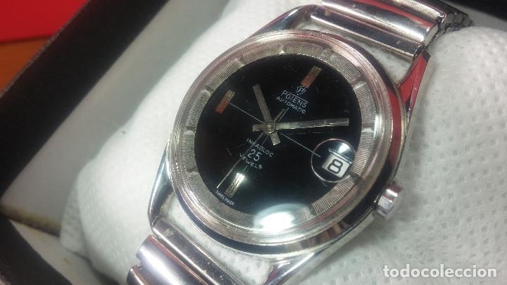 Relojes automáticos: Reloj automático de caballero Potens, calibre AS-1902/03, de 25 rubís, muy cuidado, años 60-70 - Foto 4 - 108347619