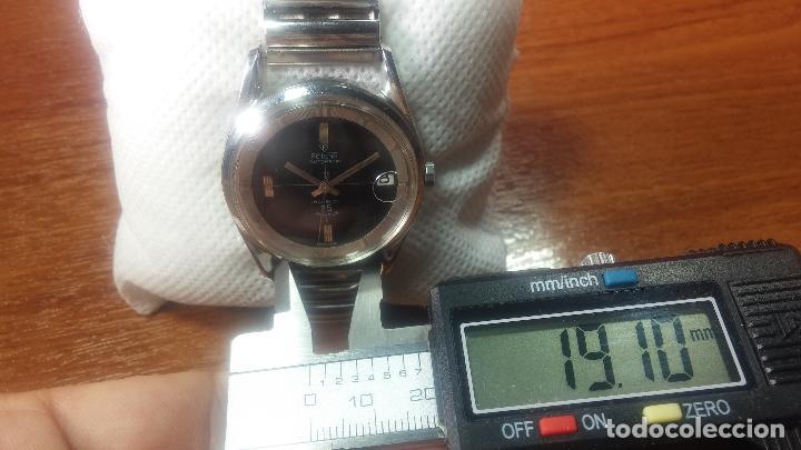 Relojes automáticos: Reloj automático de caballero Potens, calibre AS-1902/03, de 25 rubís, muy cuidado, años 60-70 - Foto 10 - 108347619