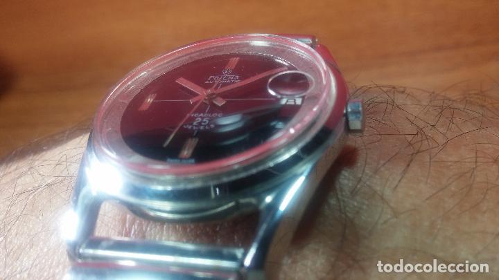 Relojes automáticos: Reloj automático de caballero Potens, calibre AS-1902/03, de 25 rubís, muy cuidado, años 60-70 - Foto 15 - 108347619