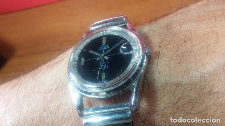 Relojes automáticos: Reloj automático de caballero Potens, calibre AS-1902/03, de 25 rubís, muy cuidado, años 60-70 - Foto 16 - 108347619
