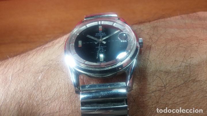 Relojes automáticos: Reloj automático de caballero Potens, calibre AS-1902/03, de 25 rubís, muy cuidado, años 60-70 - Foto 18 - 108347619