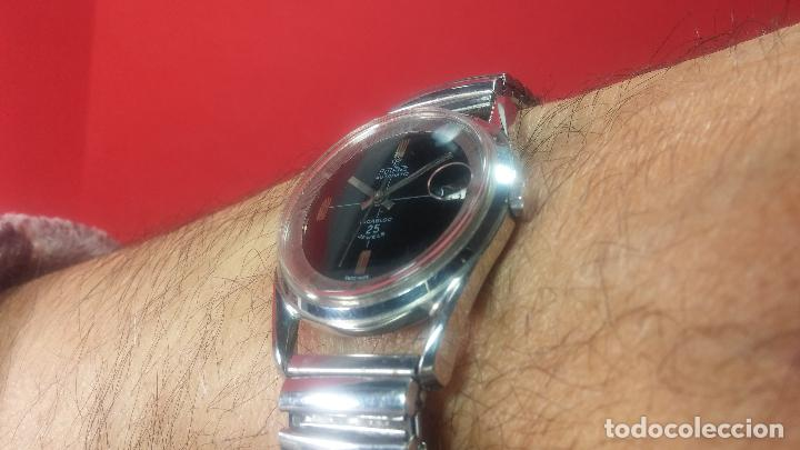 Relojes automáticos: Reloj automático de caballero Potens, calibre AS-1902/03, de 25 rubís, muy cuidado, años 60-70 - Foto 21 - 108347619