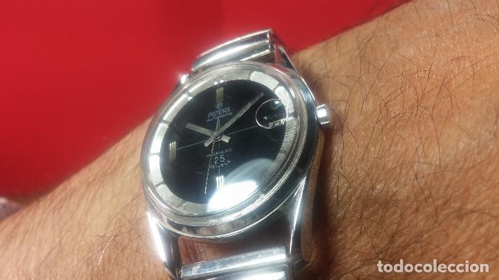 Relojes automáticos: Reloj automático de caballero Potens, calibre AS-1902/03, de 25 rubís, muy cuidado, años 60-70 - Foto 23 - 108347619