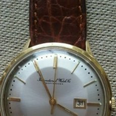 Relojes automáticos: IWC. AUTOMATICO PIE PAN, DE ORO MACIZO 18 KILATES 35 MM.. Lote 108819315