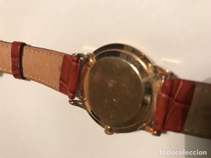 Relojes automáticos: RELOJ AUTOMATICO MOVADO ORO 18K Coleccionista automático por martillo único del 1956 - Foto 2 - 108838063