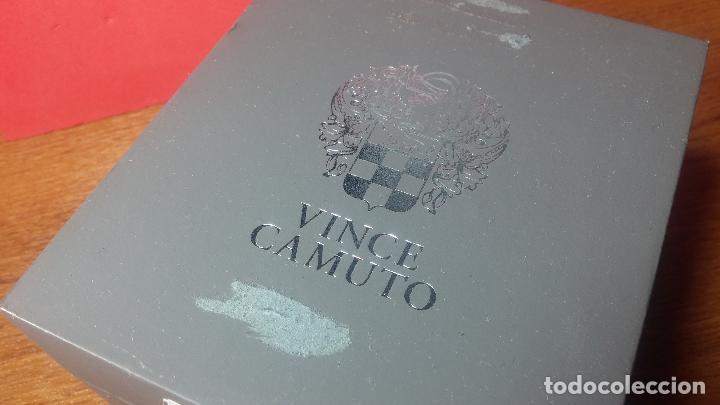 RELOJ AUTOMÁTICO VINCE CAMUTO SKELETON DE CABALLERO, PRECIOSA ESFERA AZUL MARINO, DE REESTRENO. (Relojes - Relojes Automáticos)