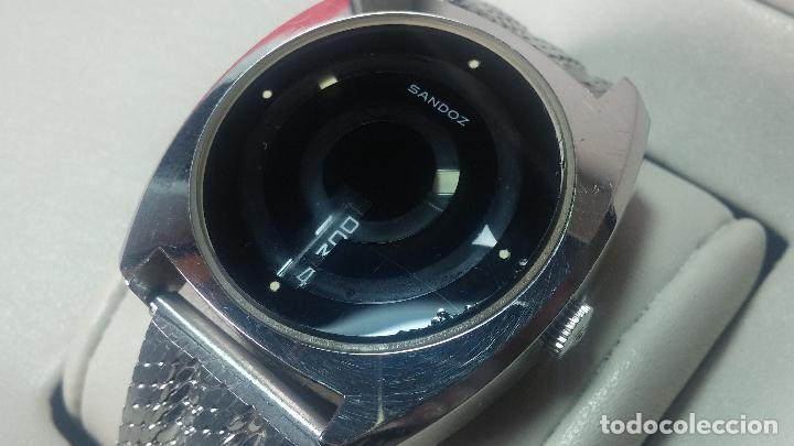 Relojes automáticos: RARO y EXCLUSIVO RELOJ SANDOZ MISTERIO, AUTOMATICO DE 25 JEWELS del año 1972 - Foto 13 - 109487903